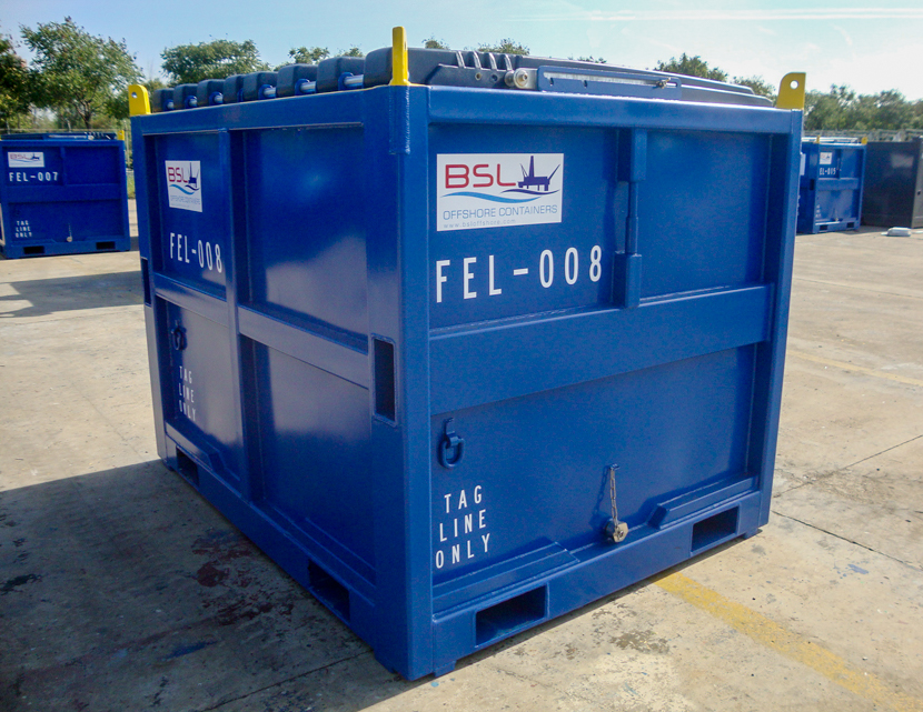 FEL Waste Skip Container